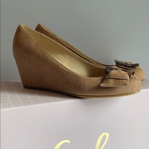 Stuart Weitzman wedge shoes